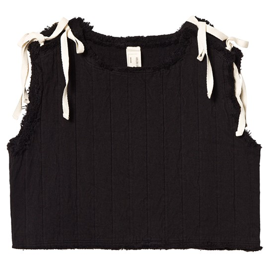 Little Creative Factory Quilted Tie Detail Tank Top Black Black