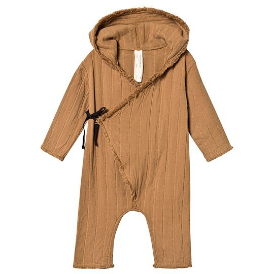 Little Creative Factory Cotton Quilted Wrap One-Piece Camel Camel