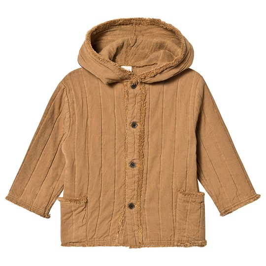 Little Creative Factory Quilted Hooded Cotton Jacket Camel Camel