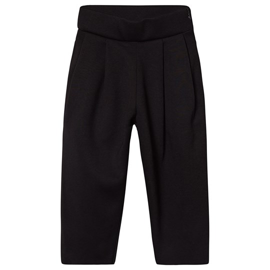 Little Creative Factory Neoprene High Waist Trousers with Tan Lining Black Black