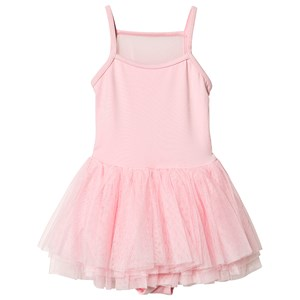 Image of Bloch Candy Pink Dollie Flock Sort Camisole Tutu Kjole 6-7 years (1352667)