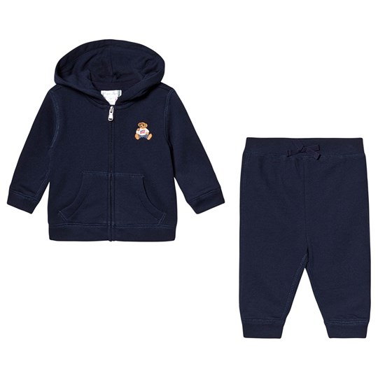 7a88996d Baby Hoodie and Sweatpants Set Navy