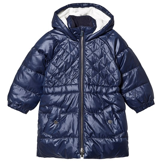 Carrément Beau Water Repellent Quilted Puffer Jacket Navy 849