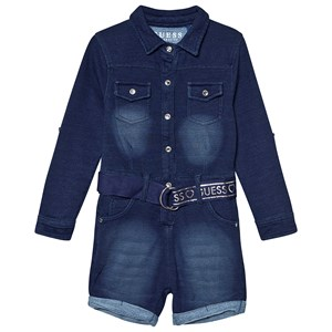Image of Guess Belted Jumpsuit Blue 2 years (1369156)