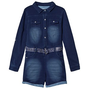Image of Guess Belted Jumpsuit Blue 16 years (1369353)