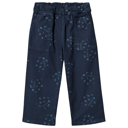 Bobo Choses Comet Benny Straight Pants Estate Blue Estate Blue