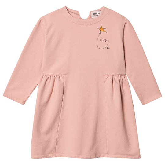 Bobo Choses Northstar Fleece Kjole i Mellow Rose Mellow Rose