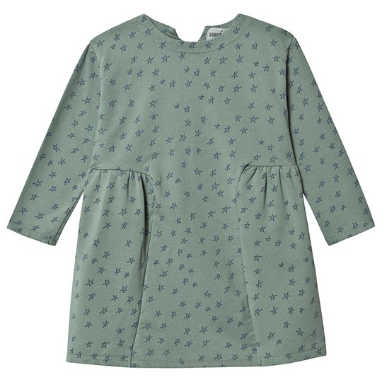 Bobo Choses Stars Fleece Kjole Iceberg Green Iceberg Green