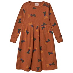 Bobo Choses Flags Jersey Dress Picante