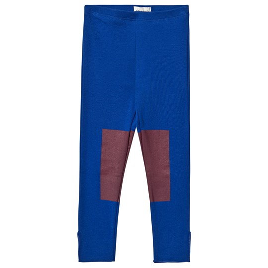 Bobo Choses Patch Leggings Nautical Blue Nautical Blue