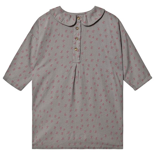 Bobo Choses Stars Buttons Dress Drizzle Drizzle