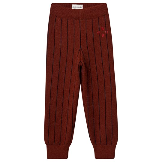 Bobo Choses Bobo Knitted Pants Sun Dried Tomato Sun Dried Tomato