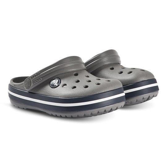 Crocs Crocband Clogs Smoke Grey/Navy 05H
