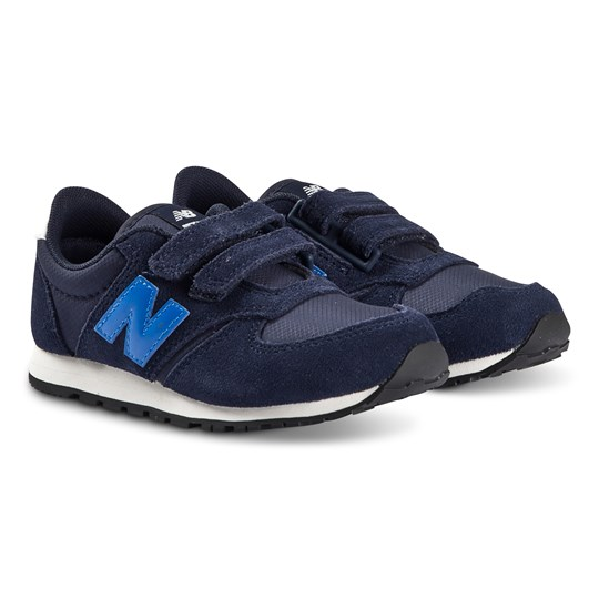 New Balance Navy Velcro Strap Lifestyle Trainers 410