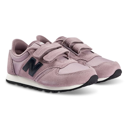 New Balance Pink & Navy Velcro Strap Lifestyle Trainers 645