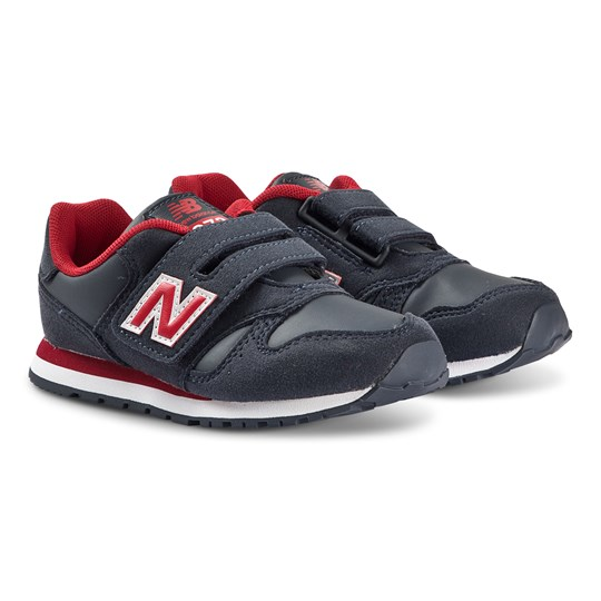 New Balance Navy & Red Velcro Lifestyle Trainers 415