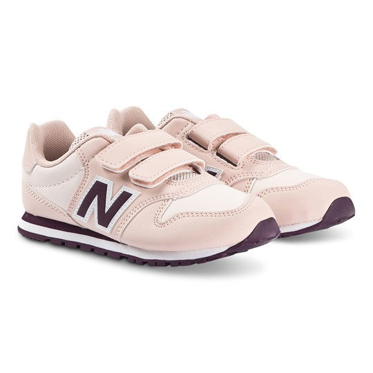 New Balance Pink & Purple Velcro Strap Lifestyle Trainers 655