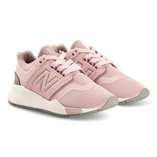 New Balance Pink & White Sole Lifestyle Trainers 660