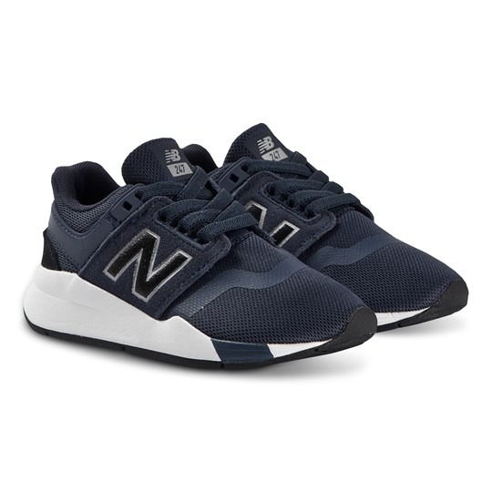 New Balance Navy & White Sole Lifestyle Trainers 410