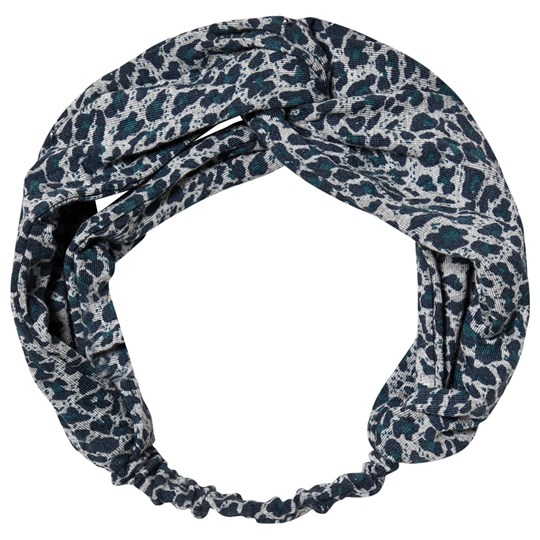 MarMar Copenhagen Anika Headband Darkest Blue/Leo Darkest Blue Leo