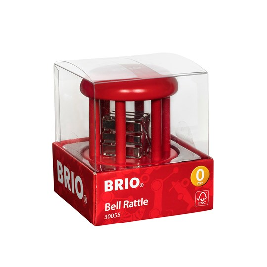 BRIO BRIO® Baby – 30055 Bell Rattle Red