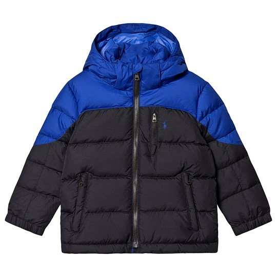 Ralph Lauren Puffer Jacket Blue/Black 001
