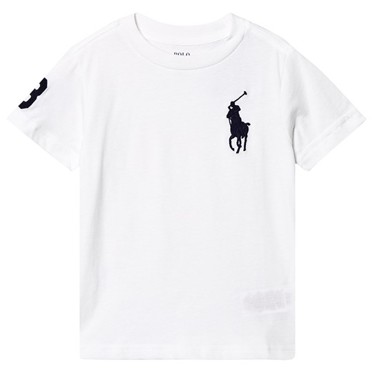 Ralph Lauren Polo Player T-Shirt White 001