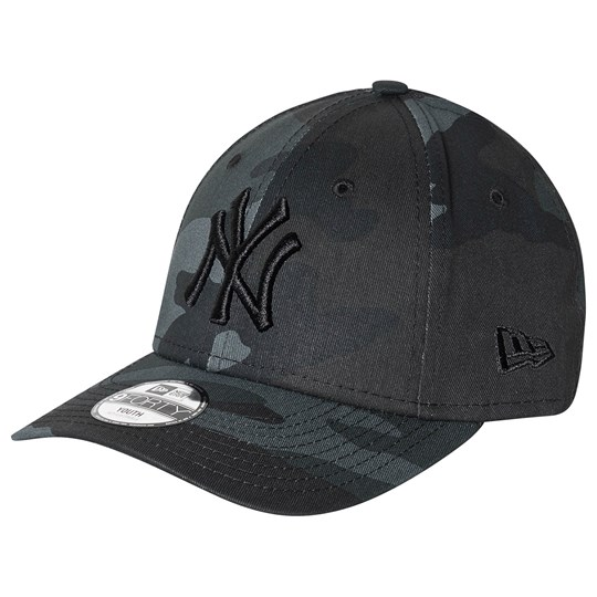 New Era New York Yankees Logo 9Forty Baseball Keps Black Camo MNC