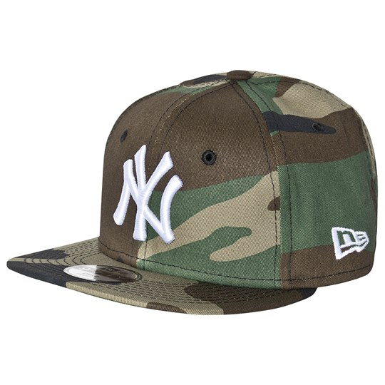 New Era New York Yankees Logo Keps Camo WDC