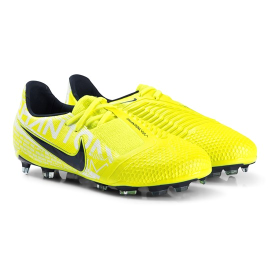 NIKE Phantom Venom Elite Firm-Ground Soccer Shoes Yellow 717