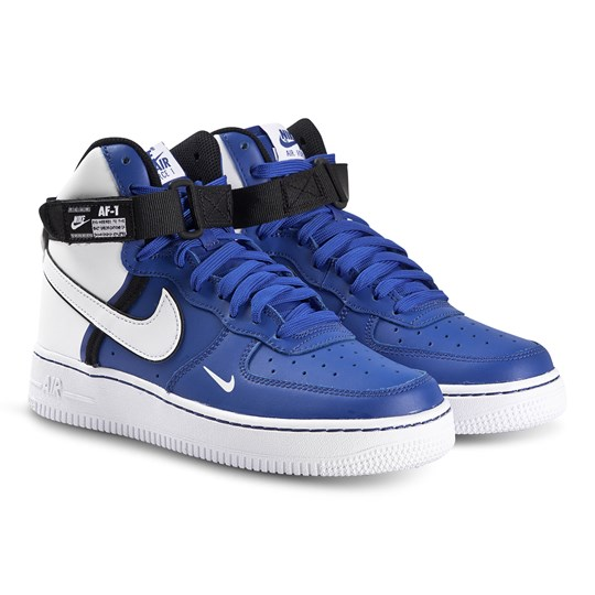 Nike Nike Air Force 1 Lv8 High Top Sneakers Blue White