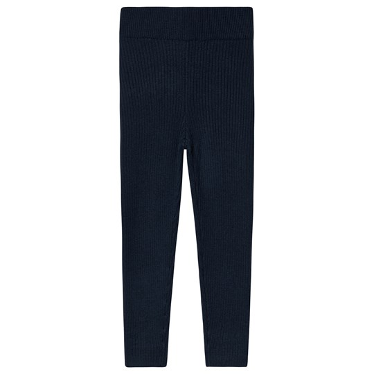 FUB Fine Leggings Marinblå Navy