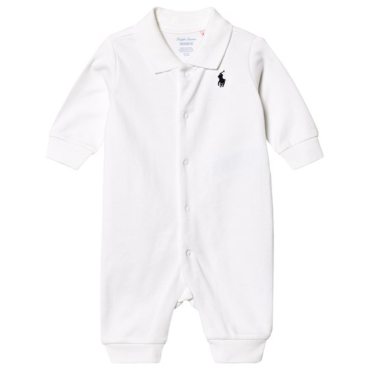 Ralph Lauren Interlock One-Piece White 005