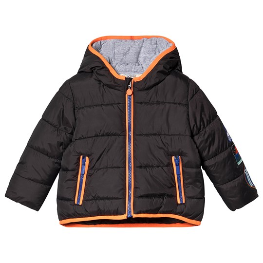 Billybandit Puffer Jacket with Space Patches Black 062