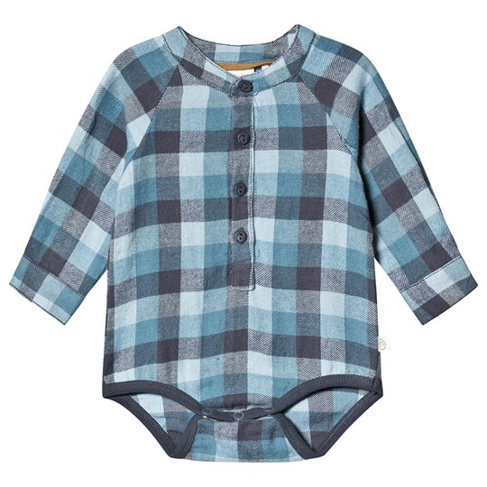Minymo Baby Body shirt Ombre Blue ombre blue