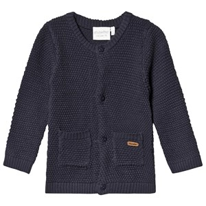 Image of Minymo Pearl Knit Cardigan Ombre Blue 56 cm (1-2 mdr) (1444589)