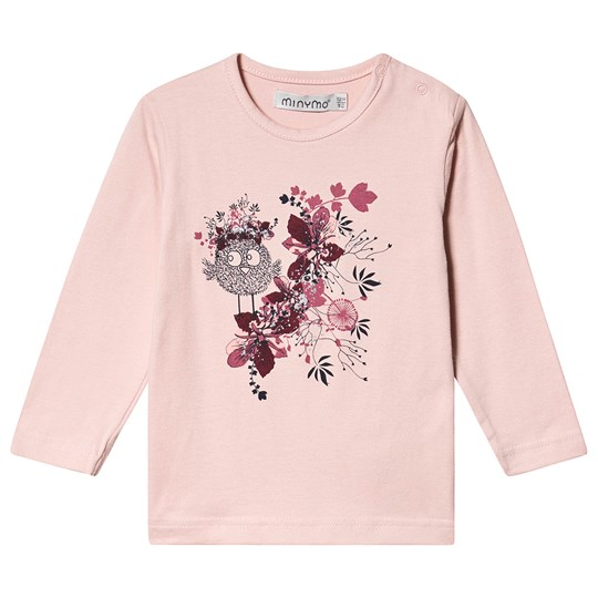 Minymo T-shirt Silver Pink Silver Pink