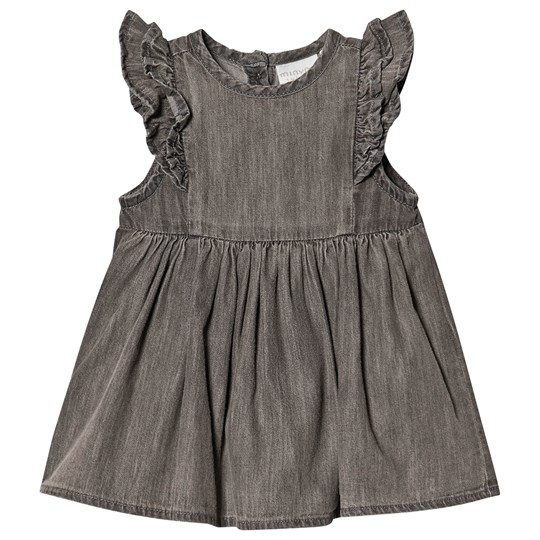 Minymo Chambray Dress Ombre Blue ombre blue