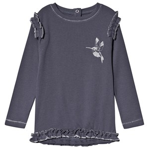 Image of Minymo Glitter Bird Top Ombre Blue 80 cm (9-12 mdr) (1444691)