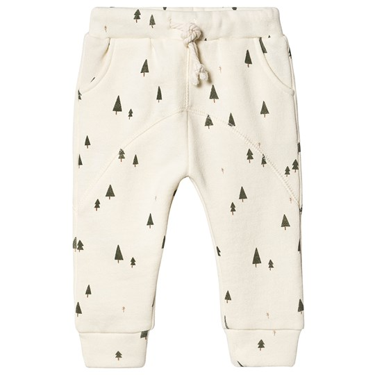 Rylee + Cru Trees James Pants Ivory Ivory