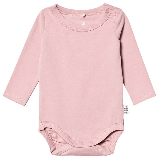 A Happy Brand Long Sleeve Baby Body Rose
