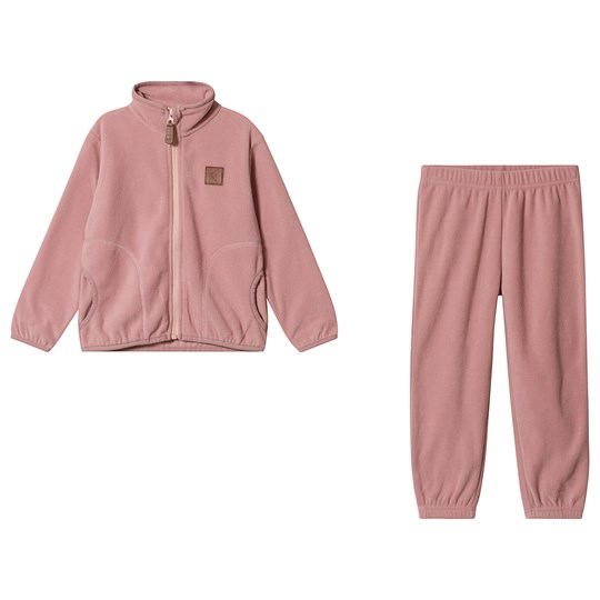 Kuling Northpole Fleece Sæt Woody Rose