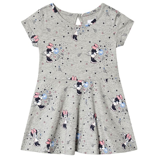 Gap Minnie Mouse Klänning Grey Melange MINNIE MOUSE