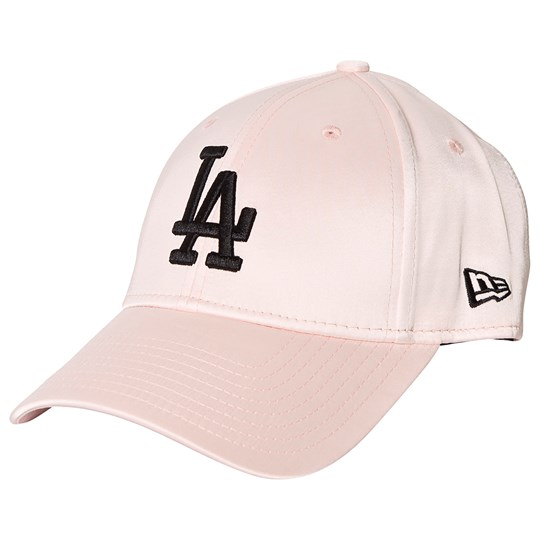 New Era LA Dodgers Satin Cap Pink BSKBLK