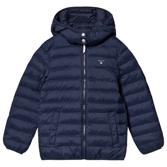 GANT Navy Small Shield Leightweight Jacket with Detachable Hood 433