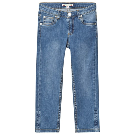 Bonpoint Mid Wash Relaxed Fit Denim Jeans 017