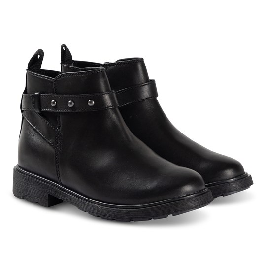 Clarks Astrol Soar Ankel Støvler Sort Læder Black Leather