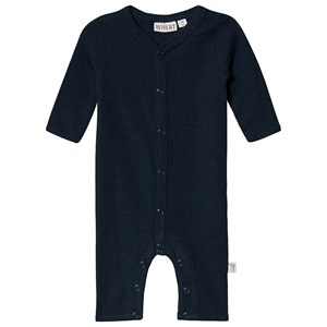 Image of Wheat Jumpsuit Ren Uld Navy 80 cm (9-12 mdr) (1414855)