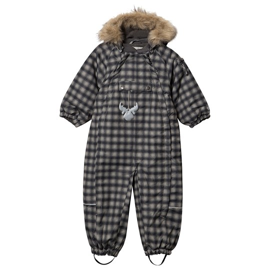 Wheat Nickie Snowsuit Black Black