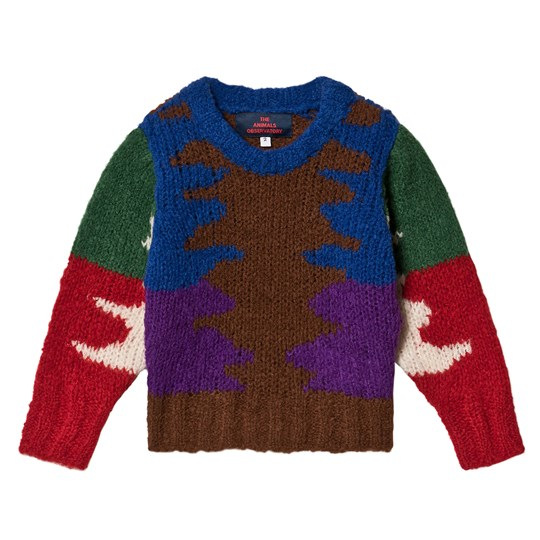The Animals Observatory Blowfish Kids Sweater Multicolor Multicolor